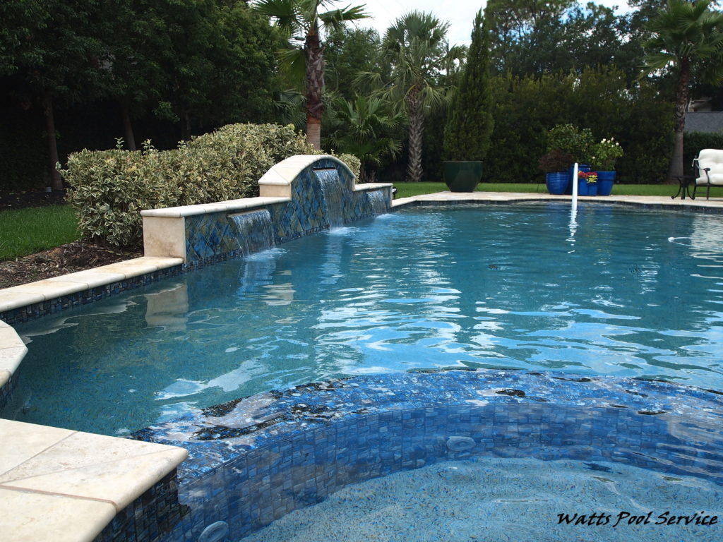 Watts pool service family owned and operated since the for Pool maintenance